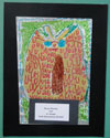 Syras Boston; Foil Art—4th Grade; York Elementary School