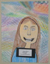 Kaylee Woods; Self-Portrait—3rd Grade; York Elementary School